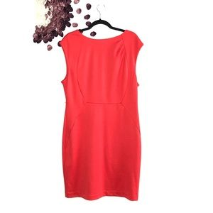 The Limited Coral Sheath Dress